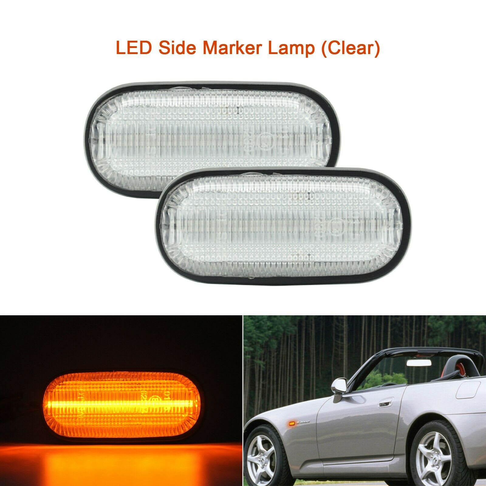 Genuine OEM Honda S2000 CR Clear Side Marker Lights S2K