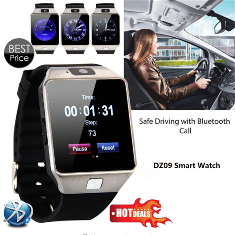 Bluetooth Smart Watch Smartwatch DZ09 Android Phone Call Relogio 2G GSM SIM TF Card Camera For IPhone HUAWEI Samsung PK A1 GT08