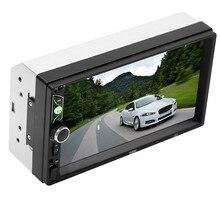7 дюймов Hd сенсорный экран-Большой Экран автомобиля Bt Mp5 зарядное устройство для автомобиля с Mp3 карты Автомобильный Dvd видео Вход мобильный Интернет 1024x600# P15