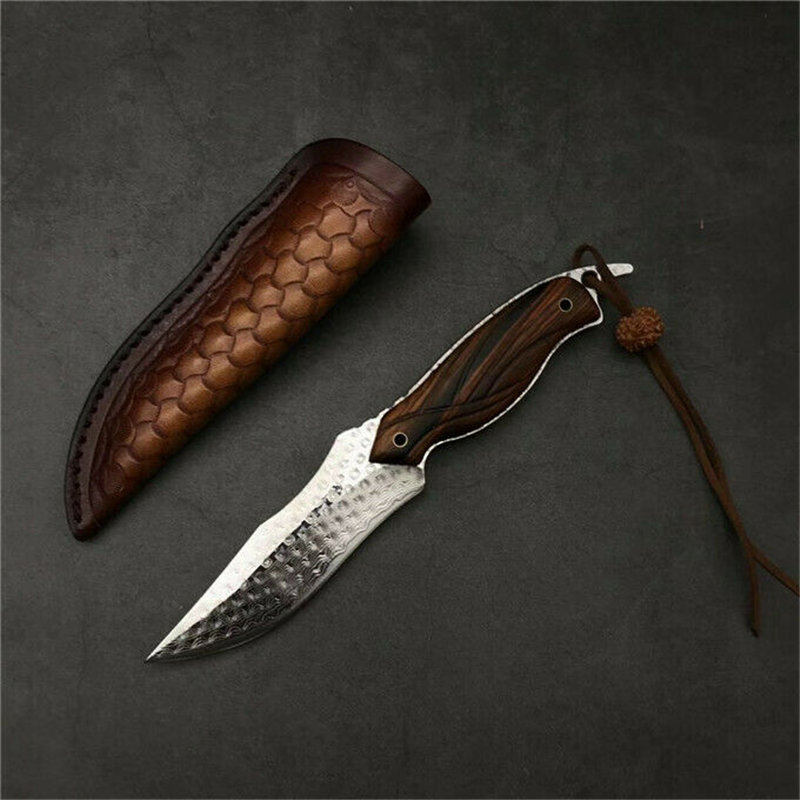 MASALONG Parrot Vg10 Keel Integrated Damascus Steel Sharp Pocket Unfoldable Knife (Limited Edition) Kni151