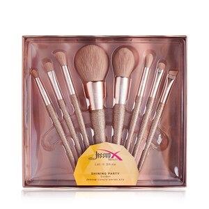 Image 5 - Jessup แปรงแต่งหน้าแปรงความงาม Shining ชุด Make up แปรง Blusher Blending Contour อายแชโดว์ดินสอ