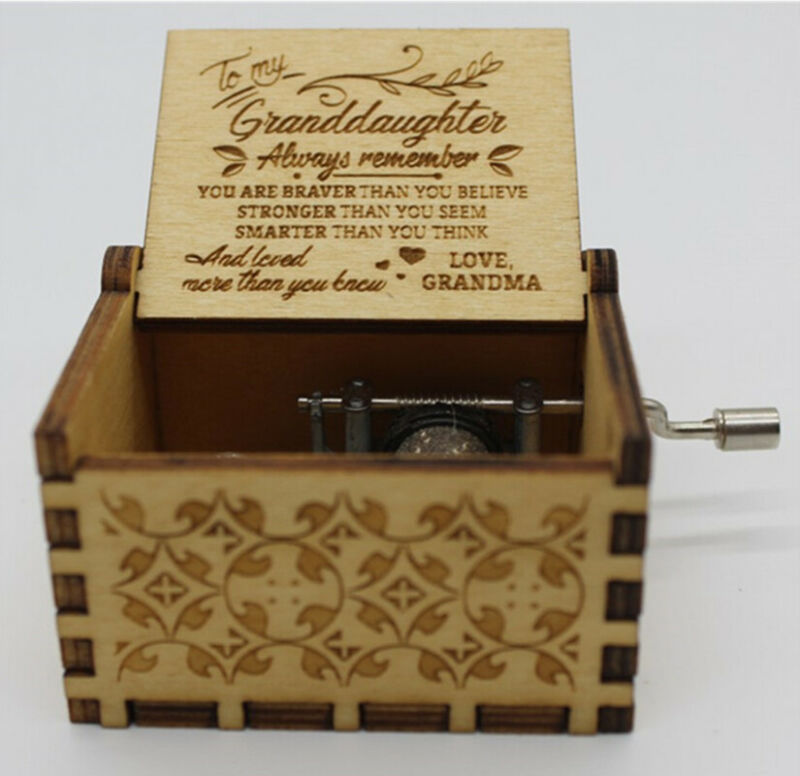 2020 New Vocal Toys From Nana Grandma To Granddaughter-You Are My Sunshine Toy Kid Christmas Gift Hand-Operated Music Boxes