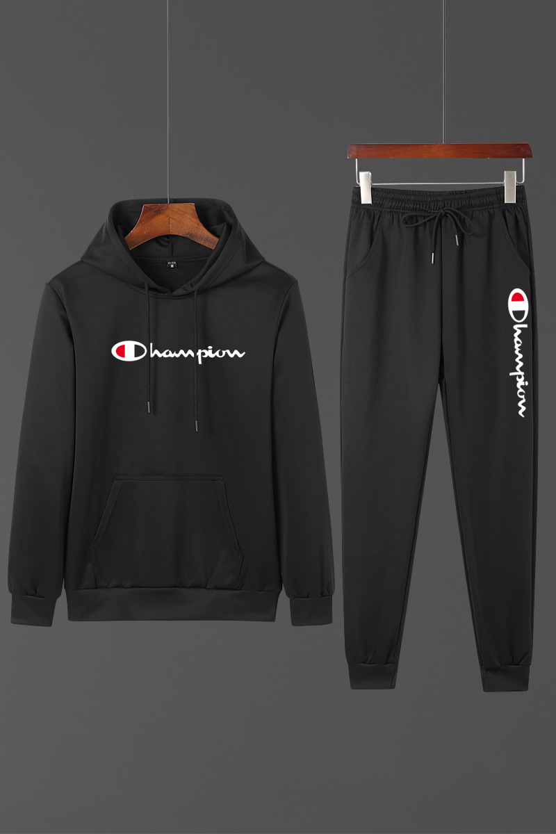 2019 MEN'S Sportswear New Style Spring And Autumn Hooded Pullover Hoodie Suit Korean-style Trend Coat Clothes