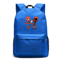Deadpool Backpack Students knapsack cartoon Laptop Backpacks School Bags for Teens Boys Girls Bagpack Travel Bags Sac A Dos