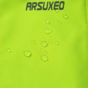 Image 5 - Arsuxeo velo térmico dos homens conjunto jaqueta ciclismo inverno à prova de vento calças de bicicleta mtb camisa ternos roupas 15kk