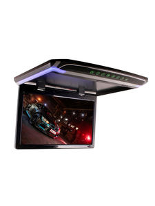 Video-Player Roof-Mounted Led-Monitor Overhead 15inch Av-Input HDMI Flip-Down SD Car