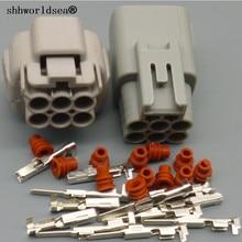 shhworldsea 6 Pin 2.2mm TS Accelerator Pedal Automotive Connector Female Male plug For Toyota 6188-0175 6189-0323