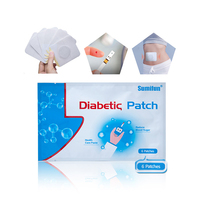 Sumifun 6pcs/bag diabetic patch Stabilizes Blood Sugar Balance Glucose Content Natural Herbs Diabetes Plaster