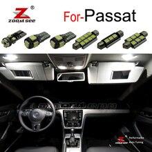 Идеальная светодиодная подсветка светодиодная лампа внутреннего освещения внутренняя карта купольный свет комплект для VW для Passat B5 B6 B7 седан вариант(1997