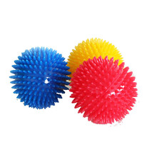 TPR biting vocalization pet toy ball dog biting elastic ball dog biting toy spike ball dog toy  pet toys  dog chew toy