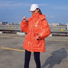 Женский утепленный пуховик зимняя пуховая куртка женские пуховики