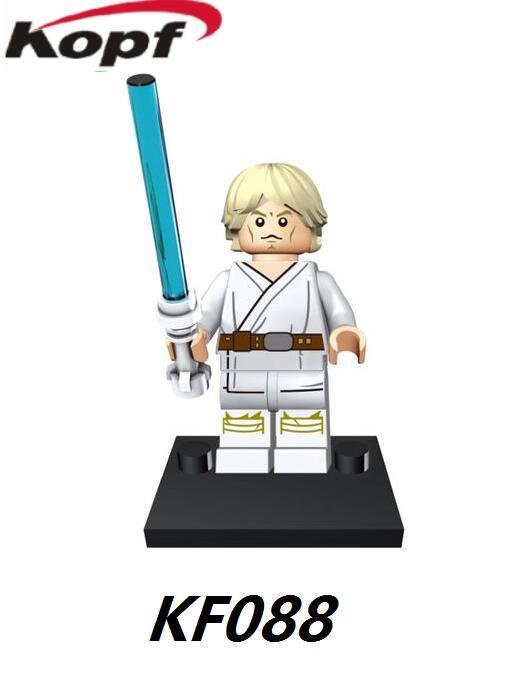 Building Blocks Space Luke Skywalker Han Solo Lando Calrissian Grand Moff Tarkin Action Bricks Best Children Gift Toys KF088