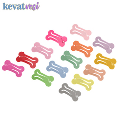 10Pcs/lot Cute Pet Dog Hairpin Colorful Bone Shape Hairpin Small Dogs Hair Clips for Chihuahua Pug Grooming Dog Accessories