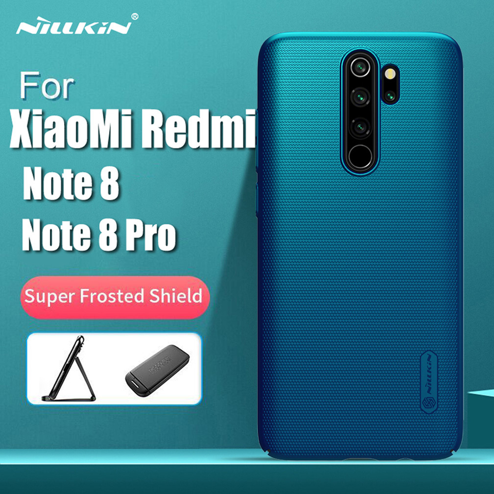 For Xiaomi Redmi Note 8 pro Case Global Version Nillkin Super Frosted Shield Hard PC Back Cover For Redmi Note8 note 8 Case