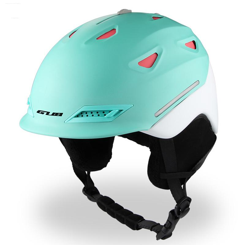 HobbyLane Outdoor Sports Skiing Supply Men Women Adults Integrated GUB Ski Helmet With Detachable Ear Cushions Hot Sale