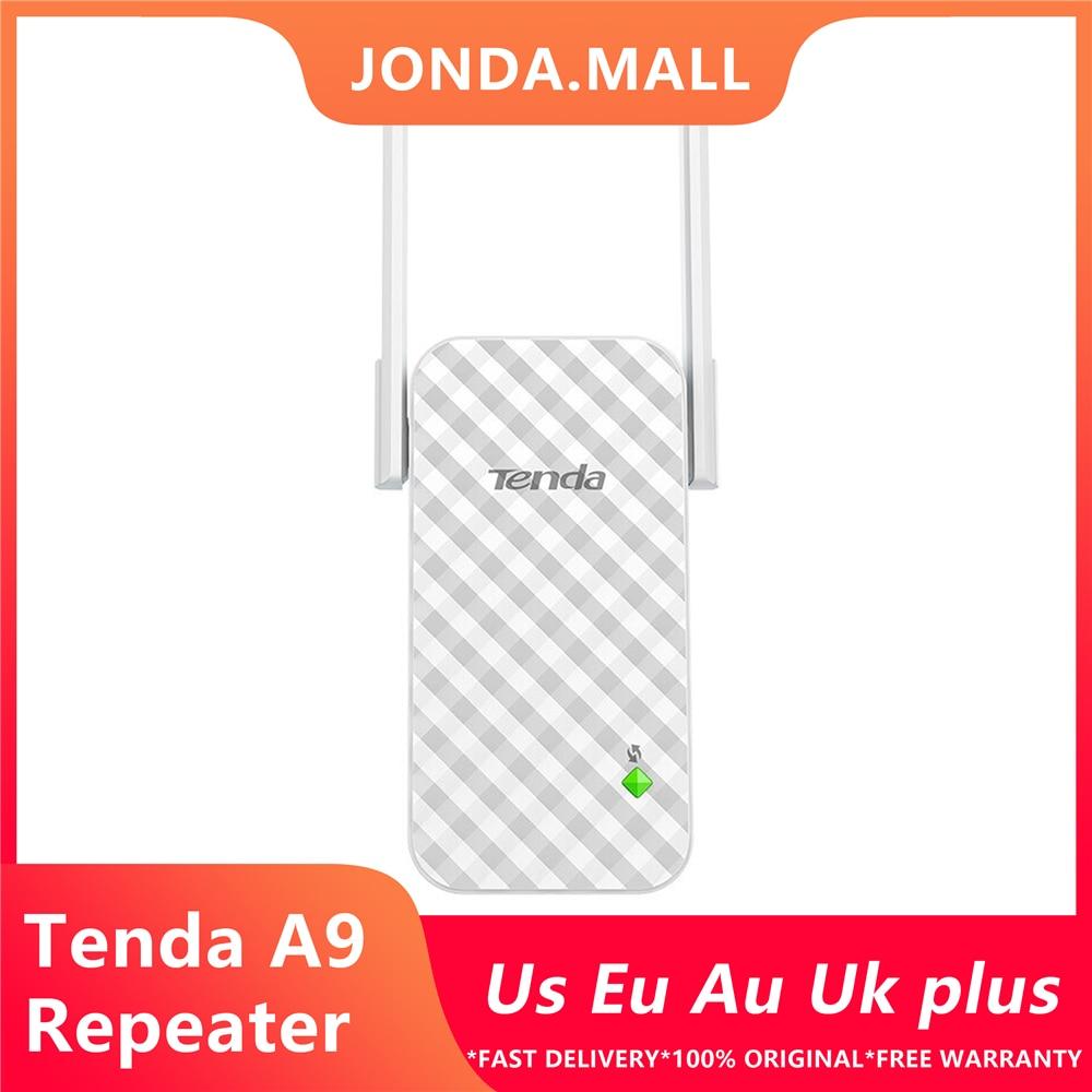 Tenda A9 Wireless Router Wireless Range Extender Expander Wifi Signal Amplifier Repeater Enhance AP Receiving Launch Client + AP