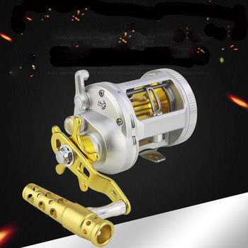 1000-4000 Series Trolling Reels 14+1BB Metal Handle Conventional Jigging Big Game Fishing Reel for Saltwater Sea Fishing