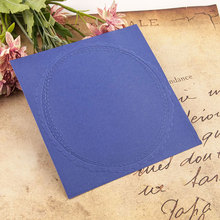 Circle Frame Christmas Embossing Folders Birthday Plastic Folder For Scrapbooking DIY Photo Album Card
