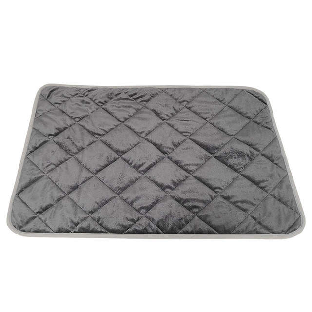 Warm Dog Mat For Cat Thermal  Pet Mat Soft Sleep Keep warm in winter Blankets Dog Pad Self Heating Rug Thermal Washable Mat Bed 2
