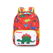 цена Kindergarten children's cartoon bag light weight loss cartoon dinosaur children backpack 3-6 years old