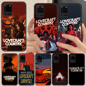 horror movie lovecraft country Phone Case Cover Hull For Samsung Galaxy S 6 7 8 9 10 e 20 edge uitra Note 8 9 10 plus black image