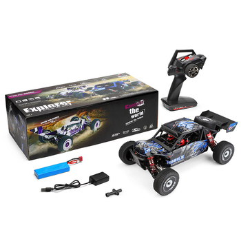 NEW Wltoys 124018 60Km/h High Speed RC Car 1/12 Scale 2.4G 4WD RC Off-road Crawler RTR Electric RC Climbing Car Toy for Kids