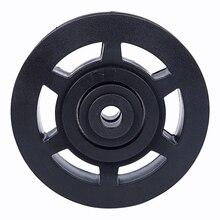 97 мм износостойкий ABS подшипник шкив колеса трос кабельный подъемник оборудование для спортзала часть