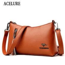Female Bag Purse-Bags Small Vintage Women Ladies Zipper ACELURE for Cheap Flap