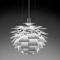 OAK Pinecone chandelier Kitchen Dining room Restaurant italian design modern chandeliers Dia38cm 48cm Suspension Hanging lamp