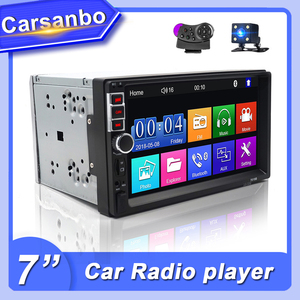 2 Din Car Radio Touch Screen Digital Display Bluetooth 2din Autoradio Car Backup Monitor Multimedia USB 7