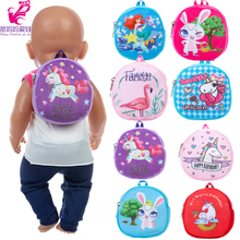Bag Doll-Accessories Backpack Dolls Carry-Bag Baby New Born Mini 18inch for 43cm Going