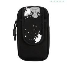 AMELIE GALANTI Mobile phone arm bag sports fitness outdoor arm sleeve arm bag arm band wrist bag Can put mobile phone key money