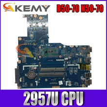 Akemy ZIWB2/ZIWB3/ZIWE1 LA-B092P для Lenovo B50-70 N50-70 Материнская плата ноутбука FRU/PN: 5B20G46051 процессор 2957U DDR3 100% тесты работы