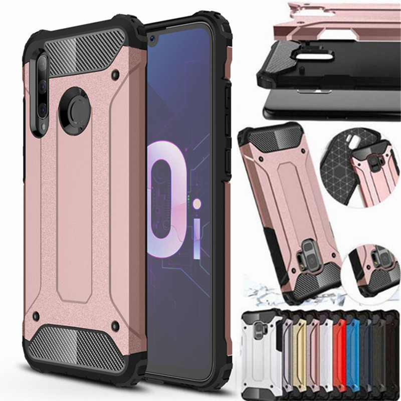 Hybrid Armor For <font><b>Huawei</b></font> P20 P30 pro Mate 20 P Smart Z Honor 10 Lite 8X 8A 8S Y5 Y6 <font><b>Y7</b></font> Y9 Prime <font><b>2019</b></font> Nova 5 i Hard Rugged Cover image