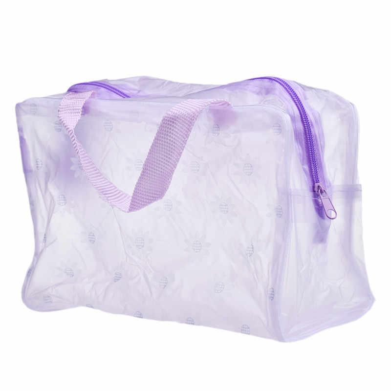 Maquiagem portátil cosméticos toiletry viagem lavagem escova de dentes bolsa organizador saco pk nova moda à prova dpk água bolsa organizador sacos