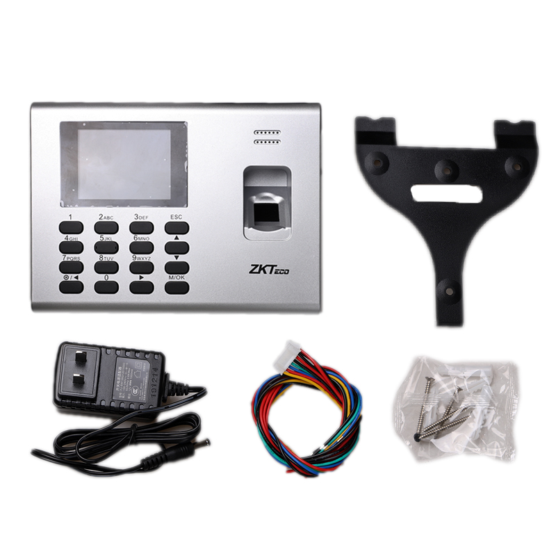 ZKTeco K40 Fingerprint Time Attendance Machine  Acccess Control Multi Languages Biometric Fingerprint