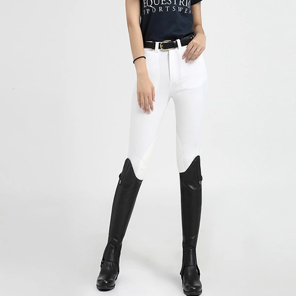 Womens Fashionably Designed Sport Equestrian Racing Pants 2