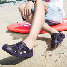 Men Shoes Crocse Hole Shoes Men Beach Shoes Light Sandals Home Slippers Outdoor Summer Wading Sneake
