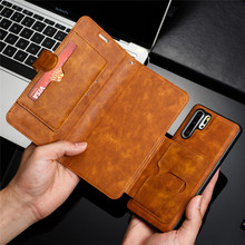 Retro PU Leather Case For Huawei