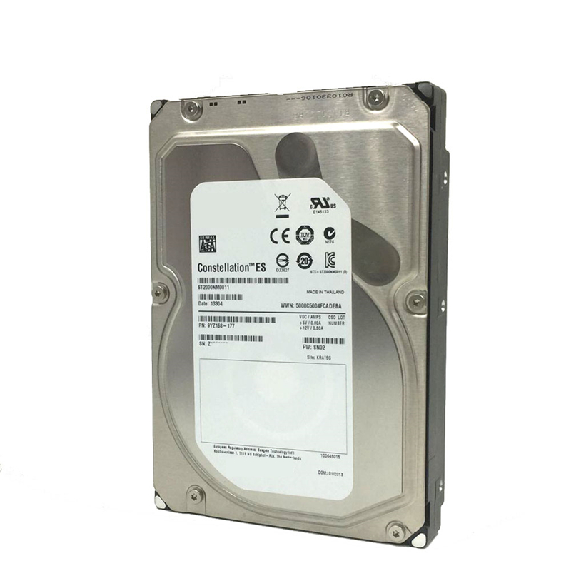 """New HDD For Seagate 2TB 3.5"""" SATA 6 Gb/s 64MB 7200RPM For Internal HDD For Enterprise Class HDD For ST2000NM0011 4"""