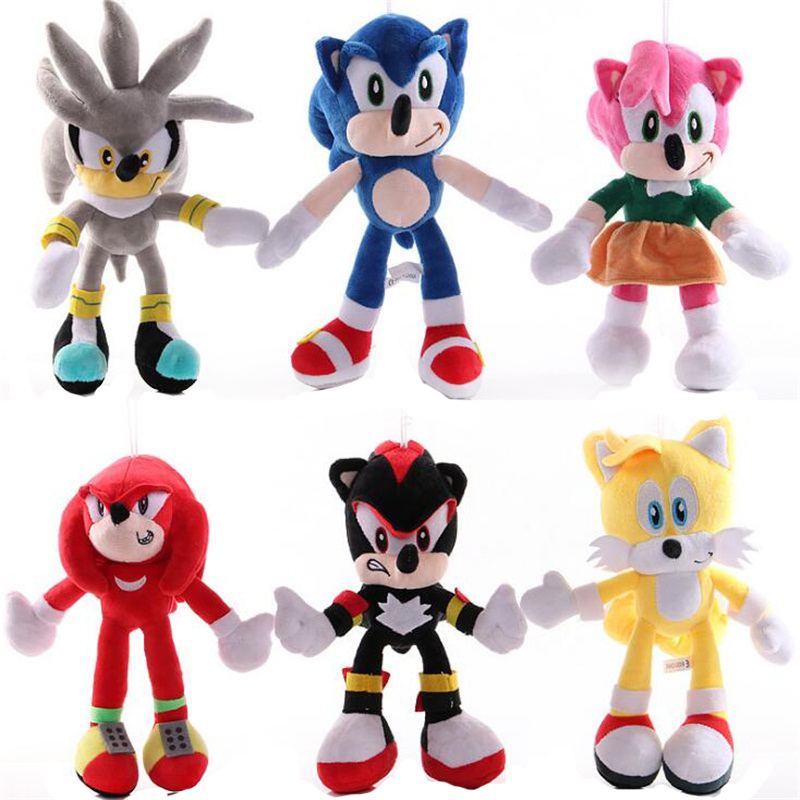 10 Styles Anime Mouse Monsters Stuffed Animals Toys 20-28 CM Cartoon Mouse Plush Doll Peluche Baby Kids Gift Home Car Decor