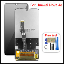цена на For Huawei Nova 4e LCD Display Touch Screen Digitize For Huawei P30 Lite LCD With Frame MAR LX1 LX2 L01 L21 L22   100% Tested