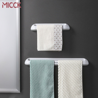 MICCK Bad Handtuch Halter Kreative Nahtlose Wand-montiert Handtücher Heels Hausschuhe Rack Küche Bad Lagerung Rack Zubehör