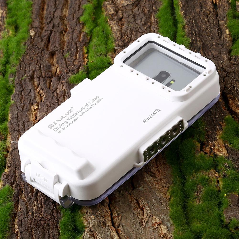 45M Waterdichte Duiken Behuizing Universele voor Android Samsung Xiaomi Huawei Oneplus Stofdicht Schokbestendig Zwemmen Telefoon Cover