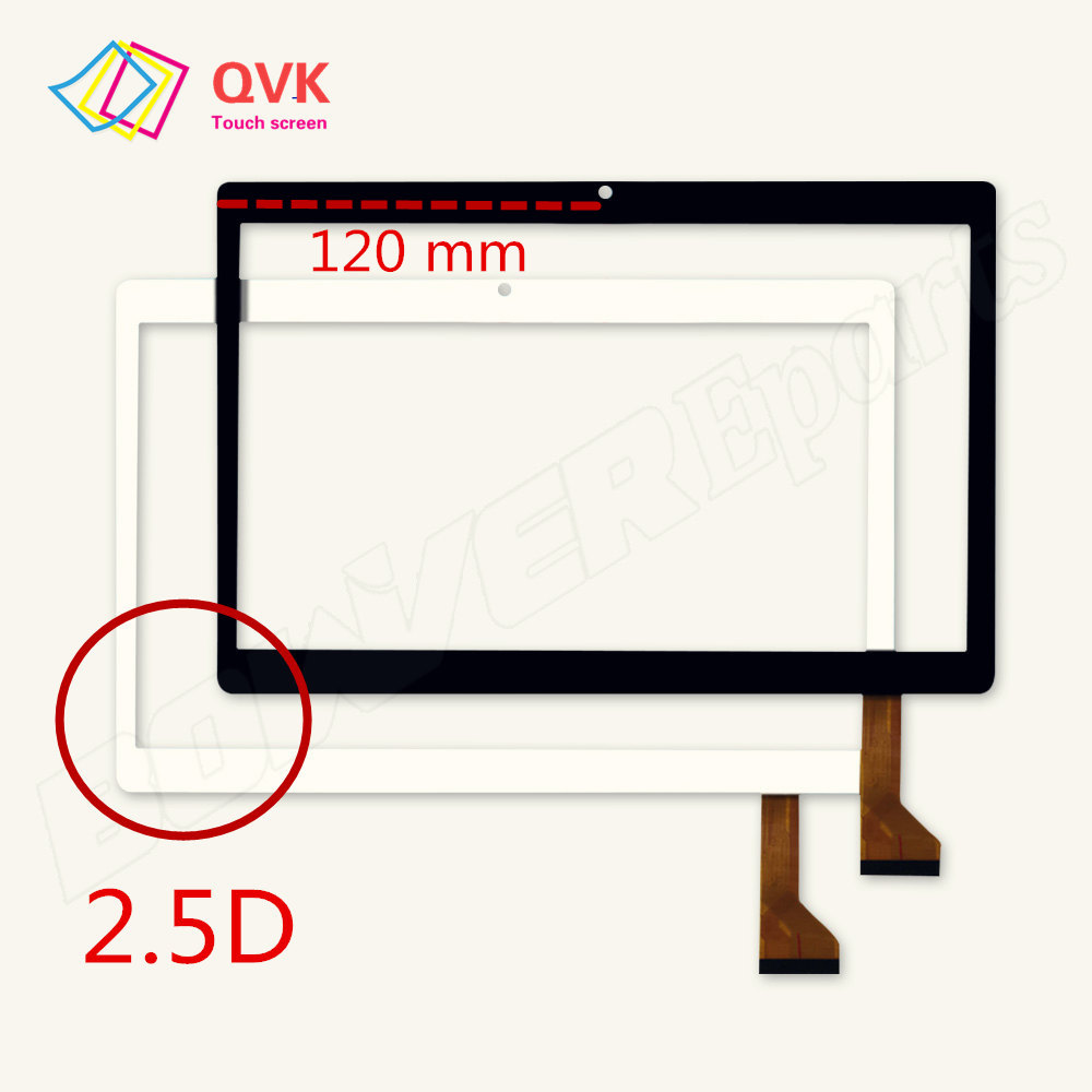 New 2.5D Touch Screen Compatible P/N GT10PG233 SLR GT10PG234 SLR 10.1inch Capacitive Touch Screen Panel  Size 237x167 Mm