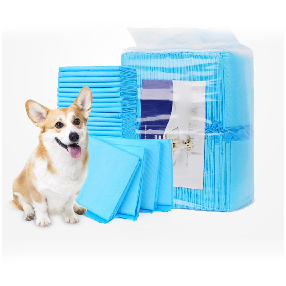20pcs Thick Disposable Pet Dog Diaper Dogs Super Absorbent Pets Dog Leakproof Training Urine Pad Nappies Puppy Dog Supplies