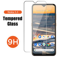 Anti Knock Hardness Clear Protective Glass for Nokia 6.1 5.1 Plus 6 5 Screen Protector for Nokia 7.1 7 Plus 7.2 6.2 Front Glass(China)