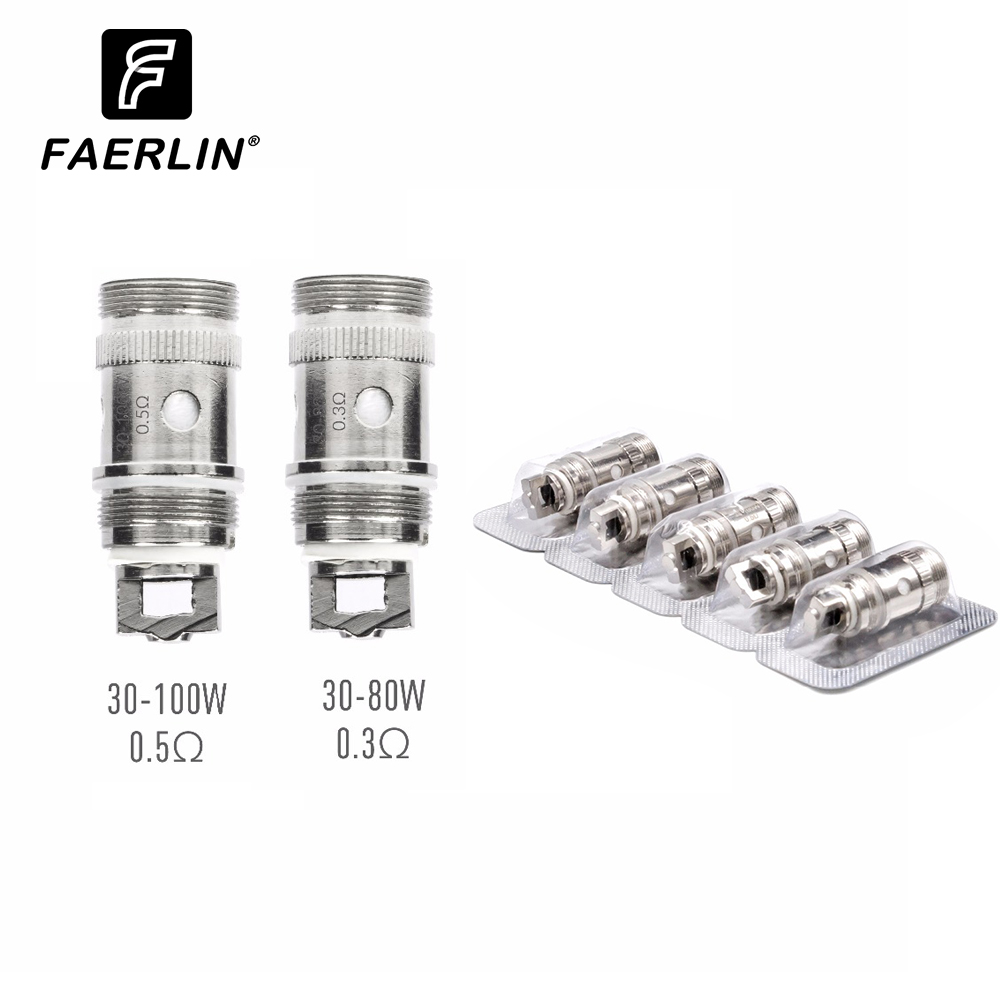 5pcs/pack Replacement 0.3ohm 0.5ohm Coil Head Suit For IJust 2 / Melo 2 / Melo 3 Mini /ijust S Coil Tank Atomizer