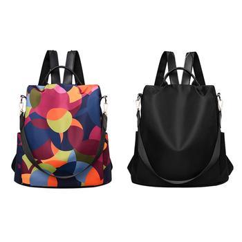 Female Anti-theft Backpack Waterproof Oxford Women Fashion Travel Bag Brand Ladies Large Capacity