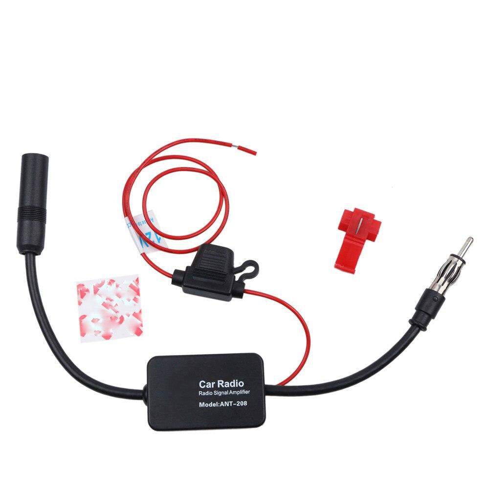 Автомобильный радиоантенный усилитель 12 В Автомобильные Антенны Fm Am усилитель радиосигнала усилитель 80 108 МГц Ant 208 для морской лодки авто|Антенны|   | АлиЭкспресс